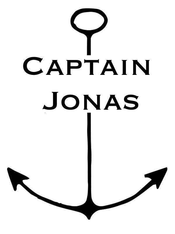 BlogLogo Captain Jonas Logo Reiseblog Travelblog Kapitän Lifestyle Blog